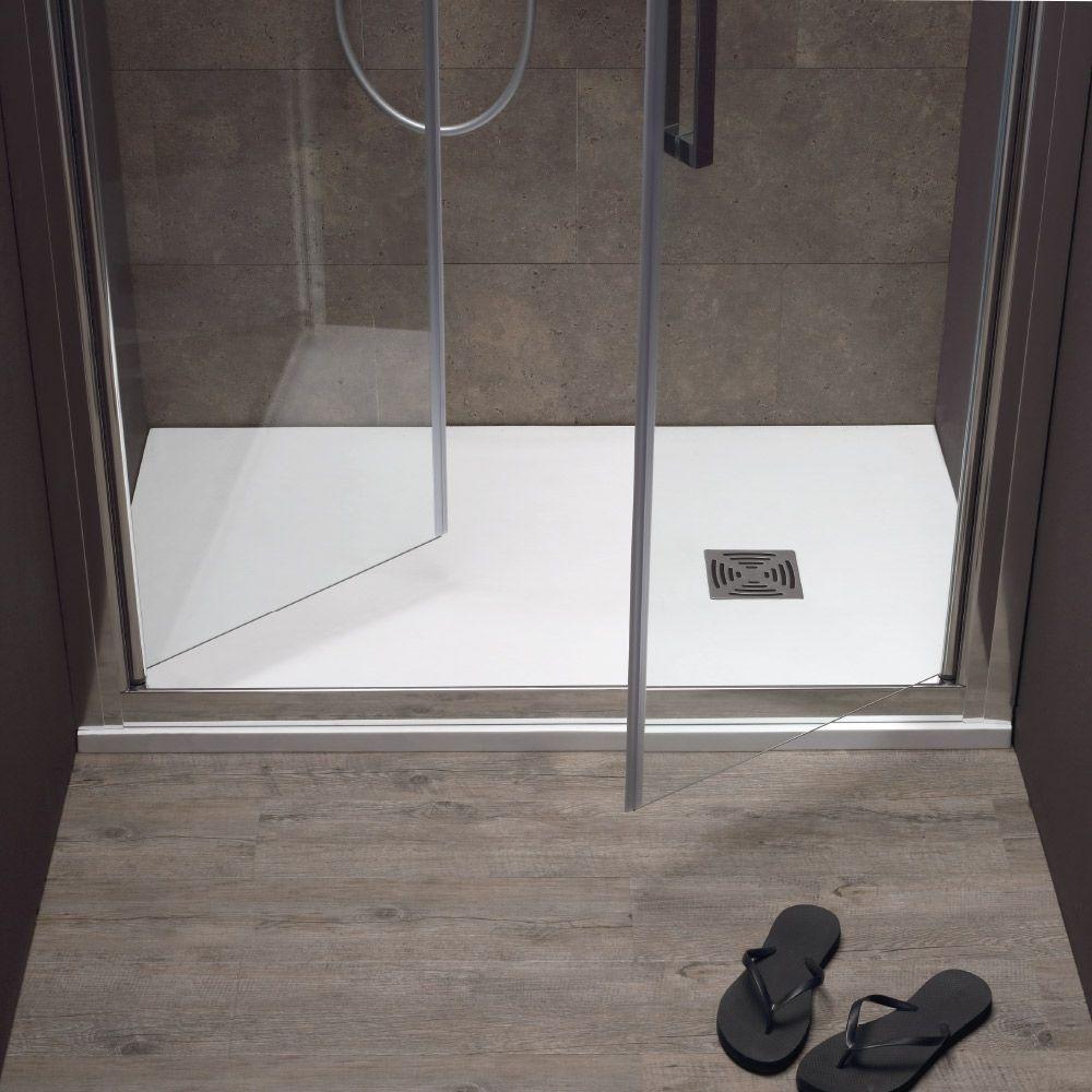 FREE - Box doccia a nicchia con porta a saloon