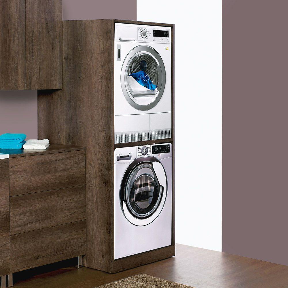 Unika colonna per inserimento lavatrice e asciugatrice - Mobile lavatrice asciugatrice ...