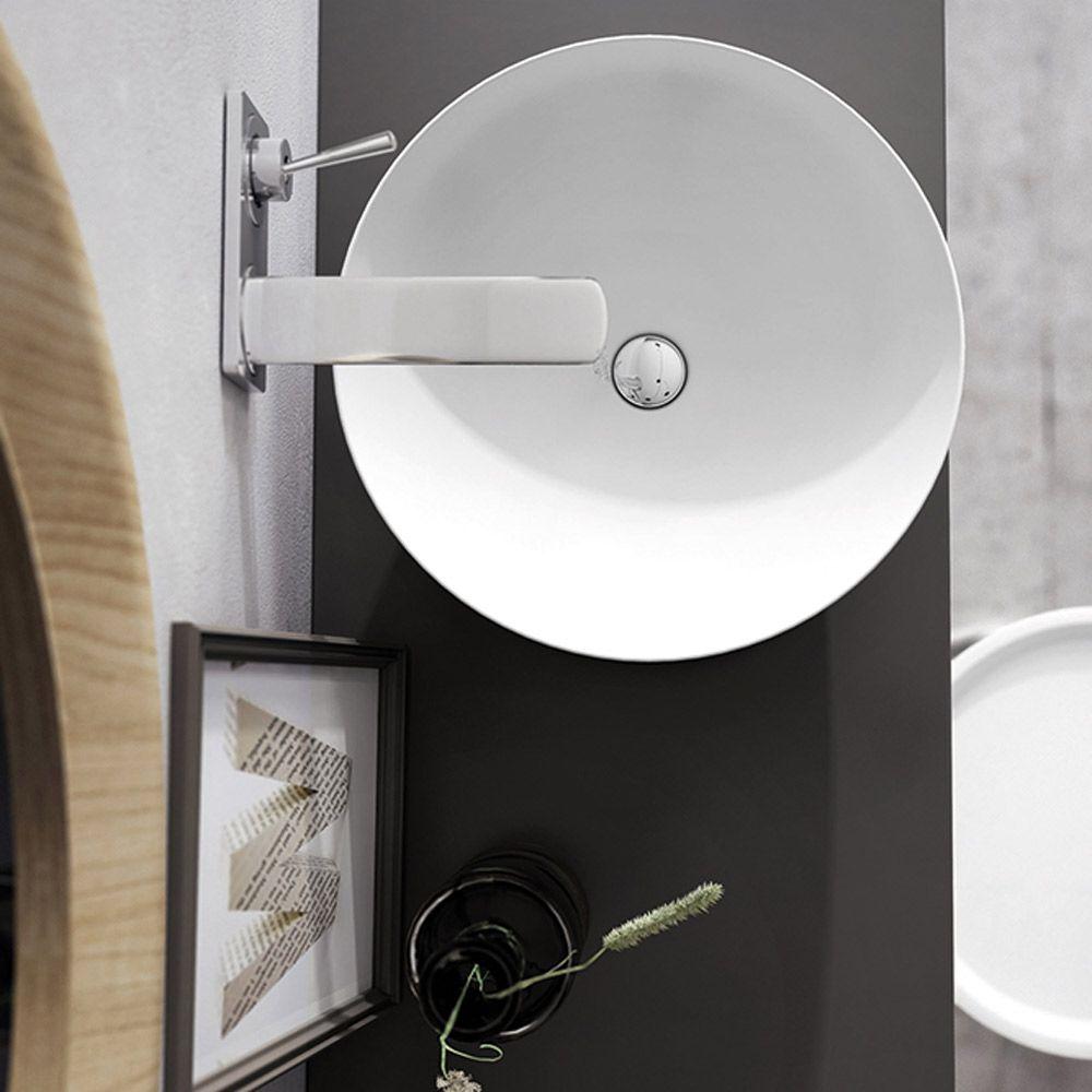 Kassel lavabo d 39 appoggio cm 43x43 - Mobel discount kassel ...