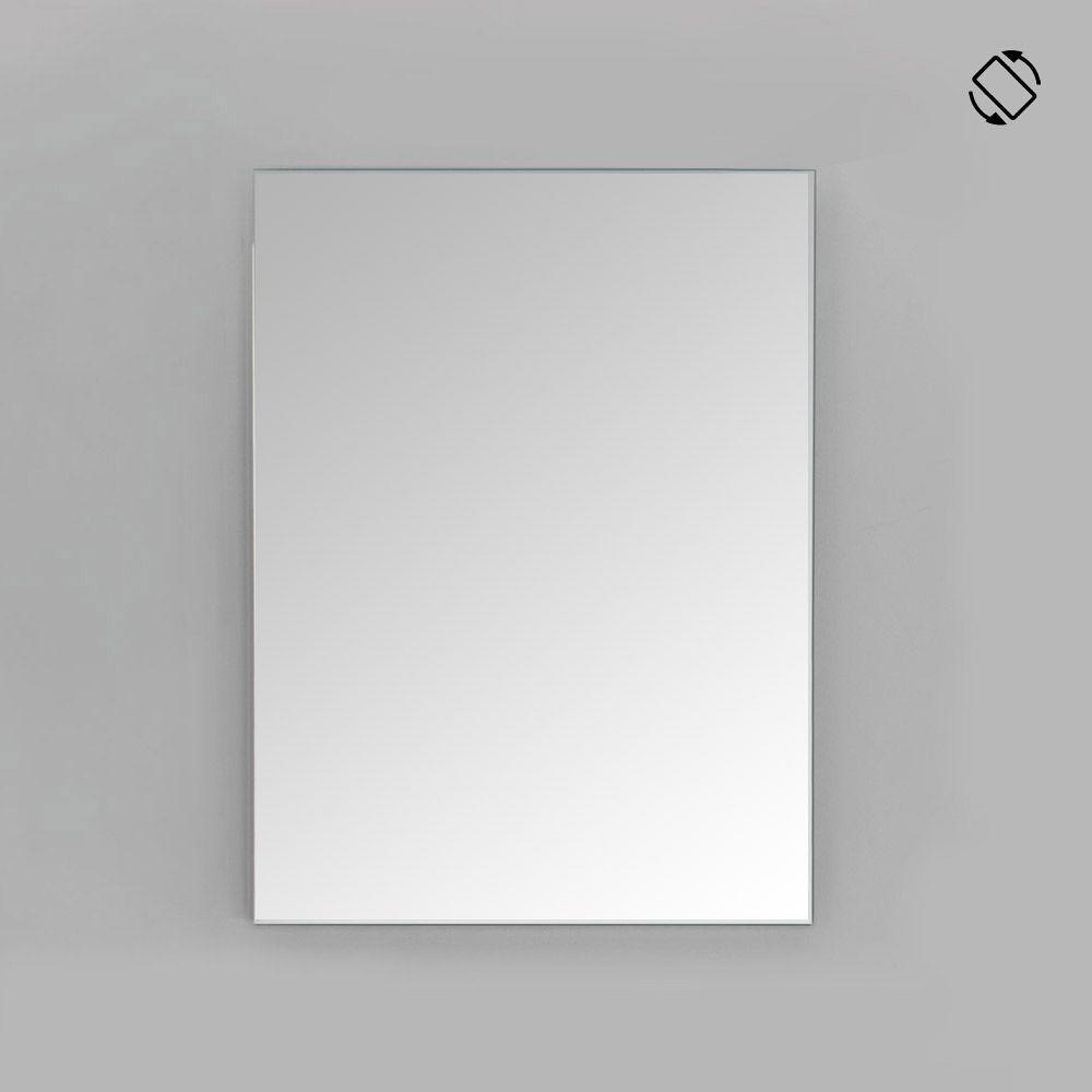 Specchio Bagno 80 X 70.Specchio Bagno Filo Lucido Cm 70x80 Reversibile