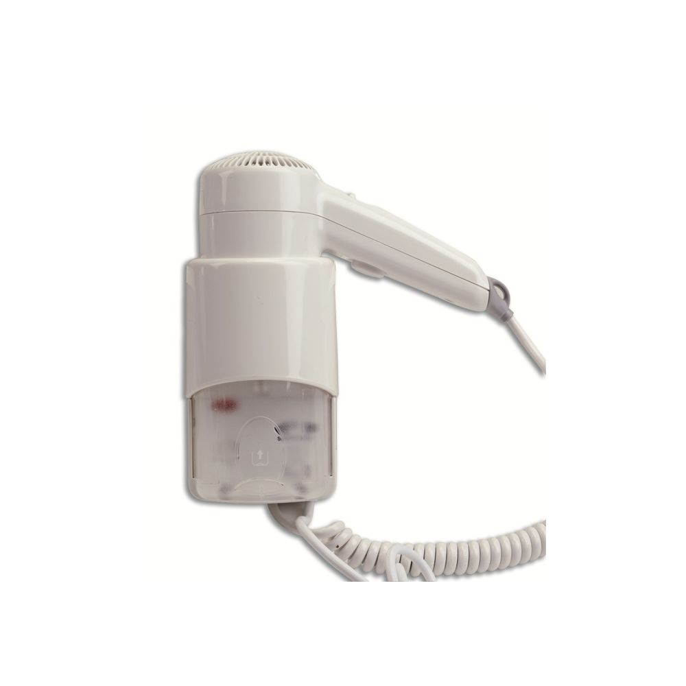 Asciugacapelli Phon Da Parete Con Tubo 700w Vama Tiny Bianco