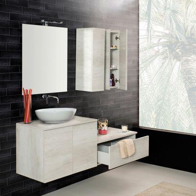 Mobili da bagno mobili bagno online maison plus - Mobile bagno lavatrice lavabo ...