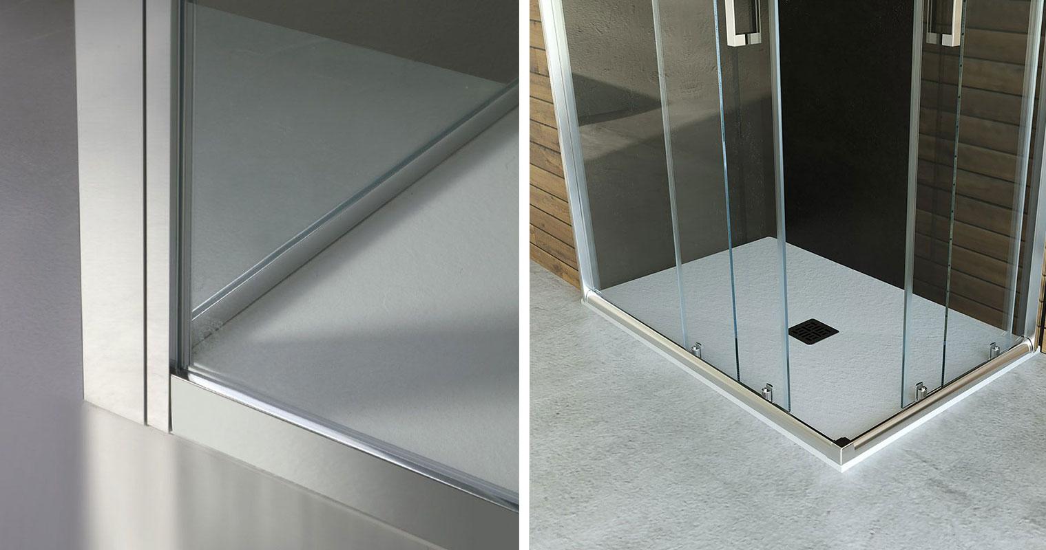 Box doccia vetro, satinato o trasparente?