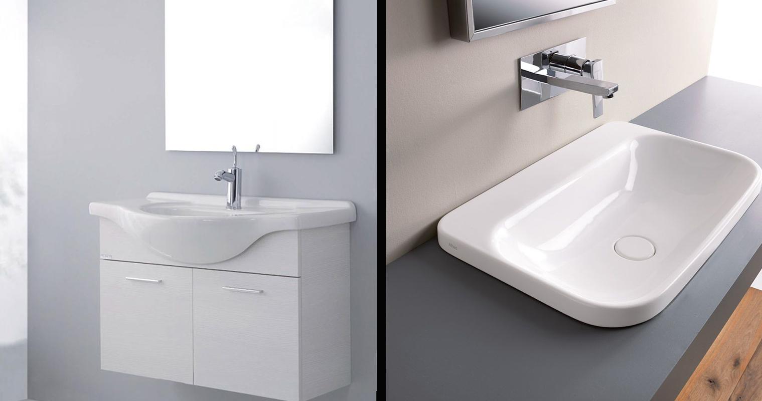 Mobiletti bagno, design per ogni spazio