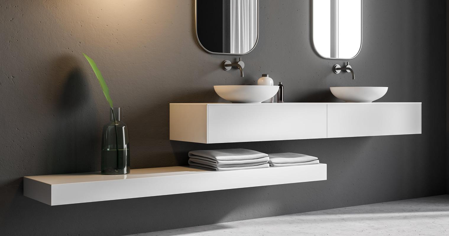 Mobili per bagno doppio lavabo e altri modelli